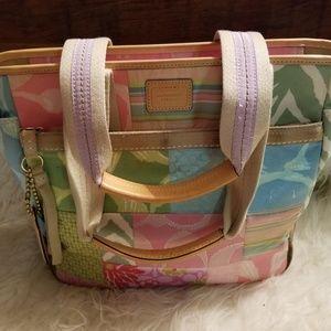 Coach patchwork purse